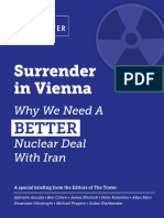Tower Special Briefing on Iran Nuclear Deal