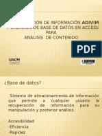 Presentacion Conferencia Exxperiencias de Análisisi de Contenido.