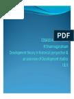 Shanmugaratnam Development Theory 2011