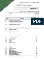 Multiservicios Trans Sudamericana - Presupuesto Rep
