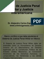5.- Sistema de Justicia Penal Militar y Justicia Interamericana