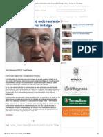 07-29-2015 Iniciaran Trabajos de Ordenamiento Urbano en La Peatonal Hidalgo