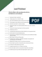 3.2 - Amendment Worksheet