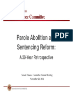 Parole Abolition and Sentencing Reform
