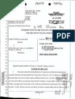 James Woods lawsuit