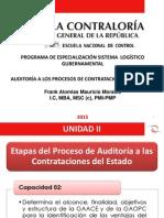 Auditoría a Las Contrataciones Sesion 2