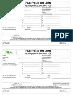 Items on Loan