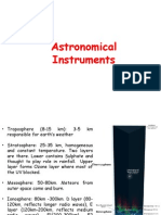 Atmosphere Earth Astronomical-Instruments
