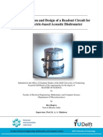 Characterization and Design of a Readout Circuit for a Piezoelectric-based Acoustic Disdrometer by Ravi Bagree