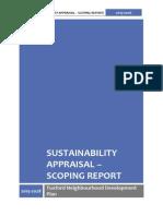 tuxford neighbourhood plan - sustainability appraisal scoping report