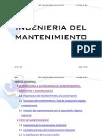 Manual de  Mantenimiento 2012