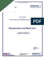 Assignment OB HND BM B5