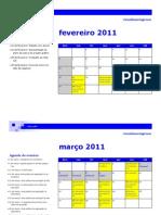 Cronograma de Jornalismo Impresso - 2011