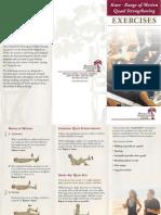 Dr Anderson Brochures