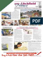 Hudson~Litchfield News 7-31-2015