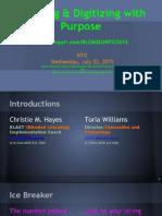 nto presentation   digitizing with purpose
