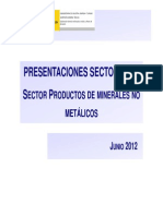 03. Productos de Minerales No Metalicos
