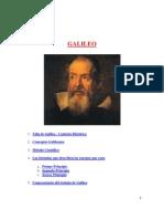 1. Vida de Galileo - Contexto Histórico