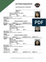 public arrest report for 30jul2015