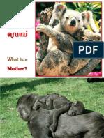 นิยามของคำว่าคุณแม่ - What is a Mother
