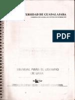 Manual de Usuario de Unix