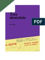 Górnicki, Wiesław - Trzy Skandale – 1956 (Zorg)