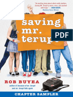 Saving Mr. Terupt by Robert Buyea