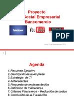 Redes Sociales Bancomercio