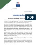 GESTION DES CENDRES A L'ISD DE GADJI-PAÏTA