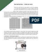 Como Se Hizo - Impresora Matricial