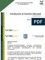 1.1 Introducción Al Derecho Mercantil