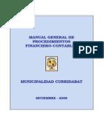 Manual General de Procedimientos Financiero-Contable