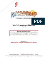 MicroTrap VOD Operations Manual Edition 4