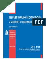 Capacitacion Ley 20720