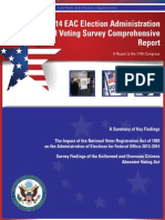 2014 Election Administration and Voting Survey (EAVS)