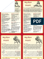 Holy Week Card