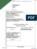 1st Technology LLC v. Rational Enterprises Ltda. et al - Document No. 45