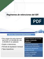 Regímenes de Retenciones ISR y Uso de Herramienta 2 Escritorio
