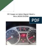 VW Voyage Con Tablero Magneti Marelli (MC9S12HZ256)