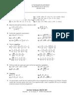 Matemáticas 2ESO
