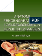 Anatomi Pendengaran, Fisiologi Pendengaran Dan Keseimbangan
