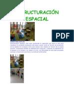 ESTRUCTURACIÓN ESPACIAL