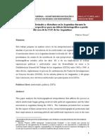 Sindicatos, Intelectuales y Dictadura en La Argentina Durante La Década Del 60. Perspectivas Para Un Debate Historiografico a Partir Del Caso de La Cgt de Los Argentinos