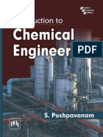 Introduction to Chemical Engineering (PHI, 2012)