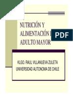 Nutrición y Alimentación Del AM Clase 6 R. VILLANUEVA