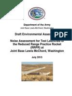 RRPR Test Draft Environmental Assessment