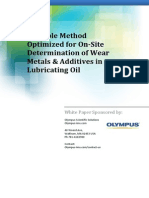 Determination of Wear Metals & Additives in Lubricating Oil