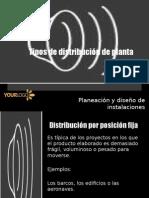 Tipos de Distribución de Planta