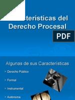 Características Del Derecho Procesal