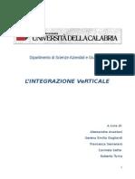 11. Integrazione Verticale